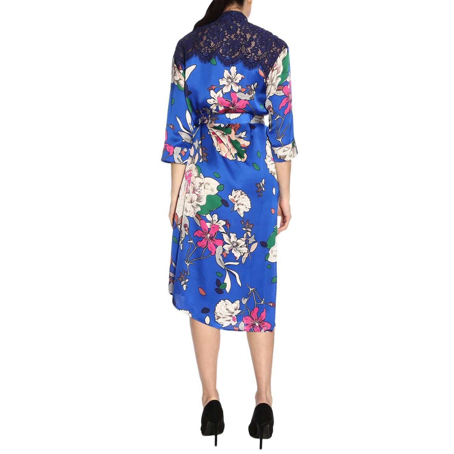Dress women Twin Set gnawed blue 3