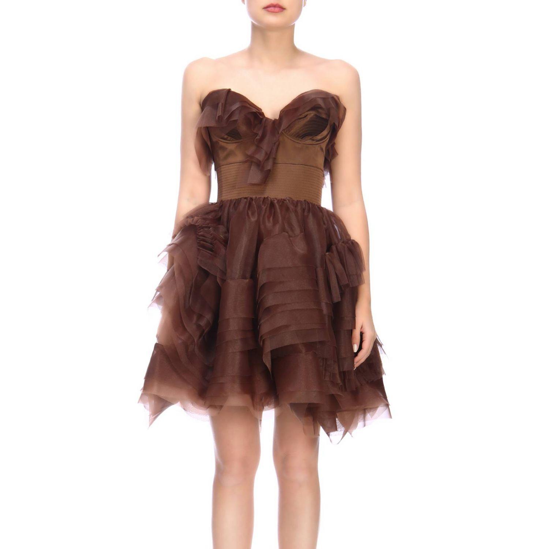 Robes femme Ermanno Scervino cuivre 1