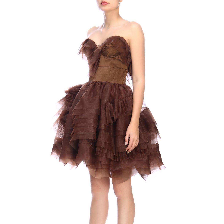 Robes femme Ermanno Scervino cuivre 2