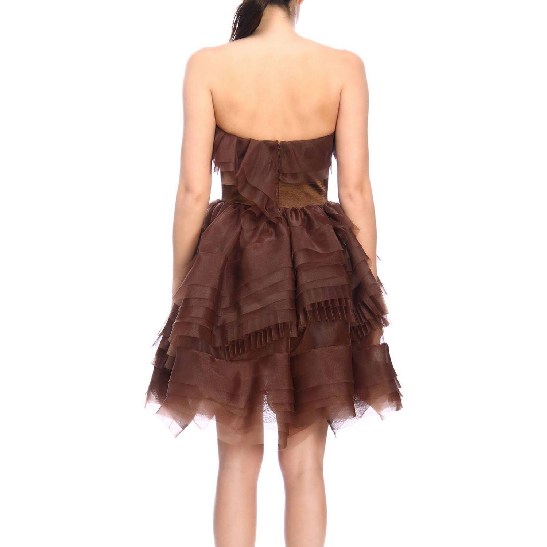 Robes femme Ermanno Scervino cuivre 3