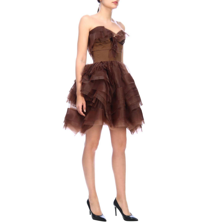 Robes femme Ermanno Scervino cuivre 4