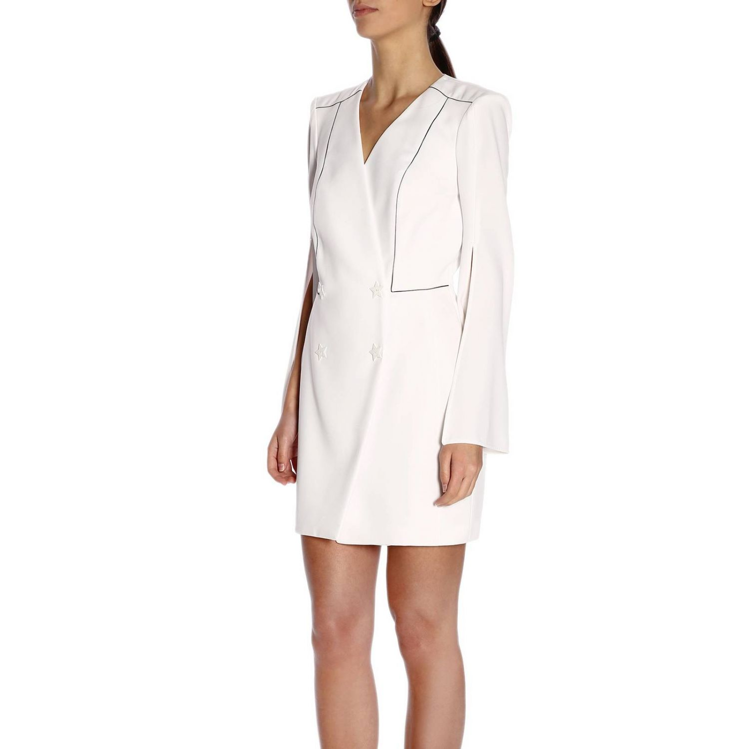Dress women Elisabetta Franchi white 2