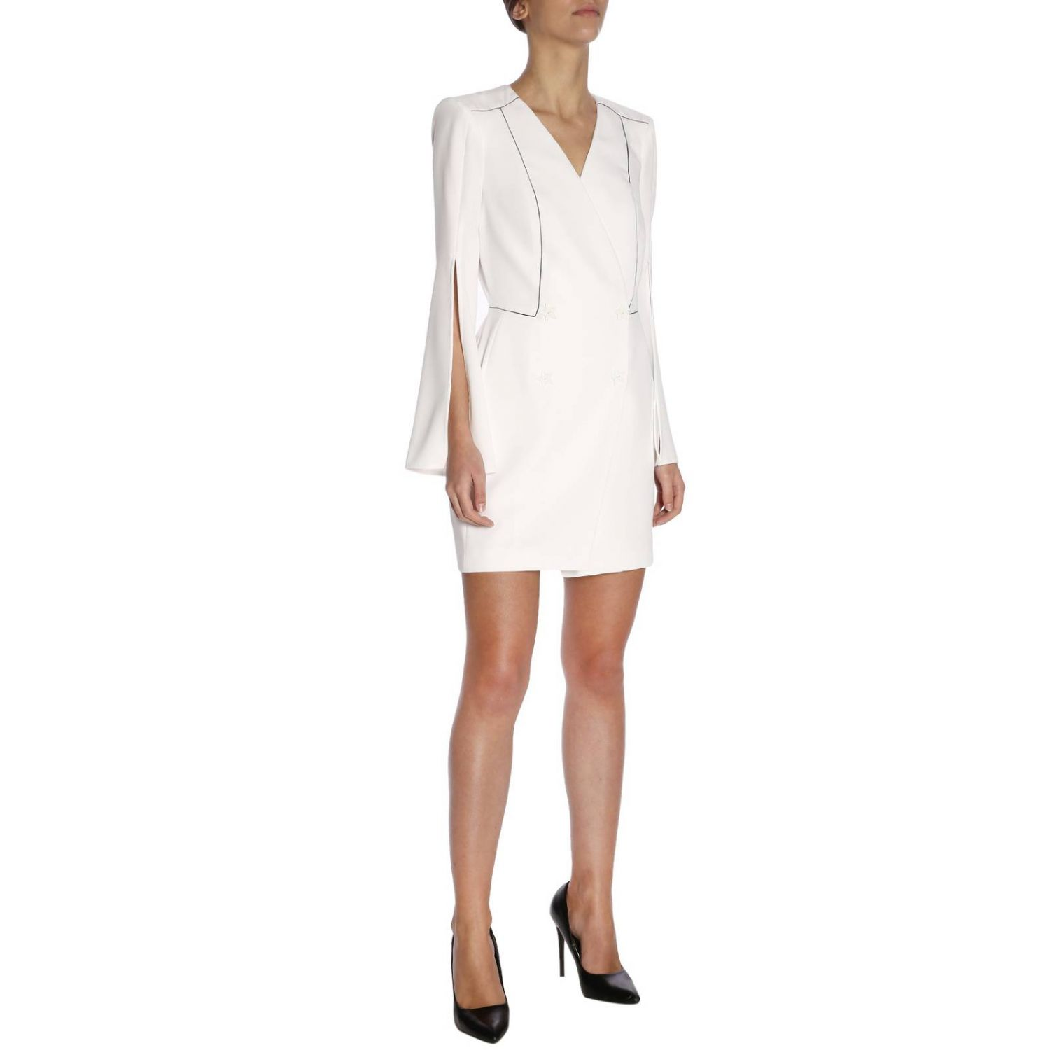 Dress women Elisabetta Franchi white 4