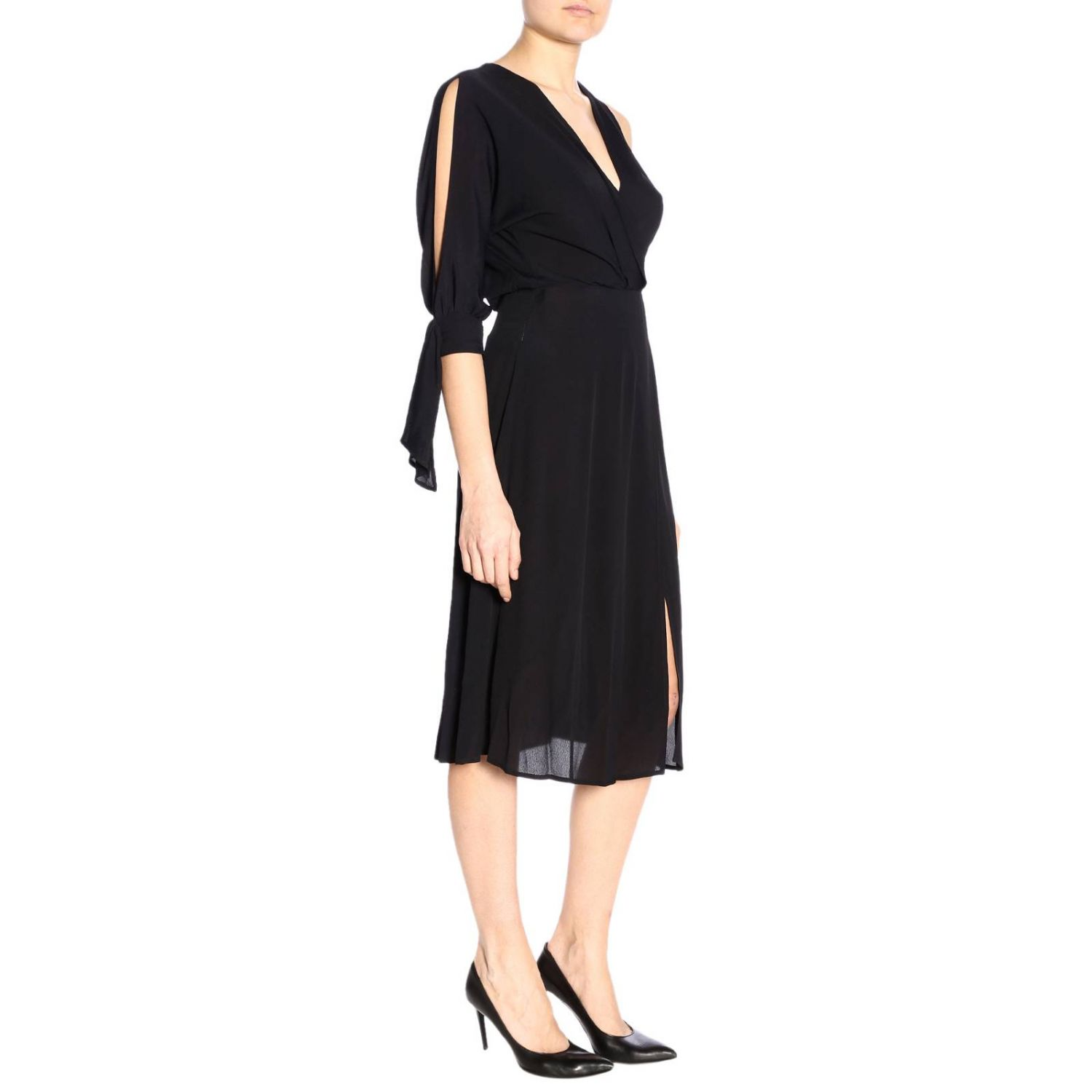 Dress Elisabetta Franchi: Dress women Elisabetta Franchi black 2