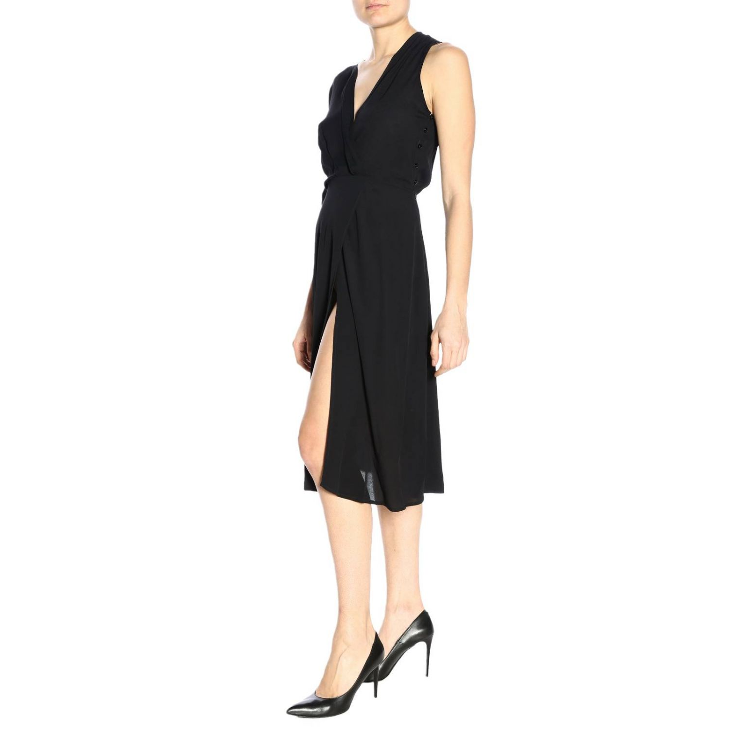 Dress Elisabetta Franchi: Dress women Elisabetta Franchi black 4