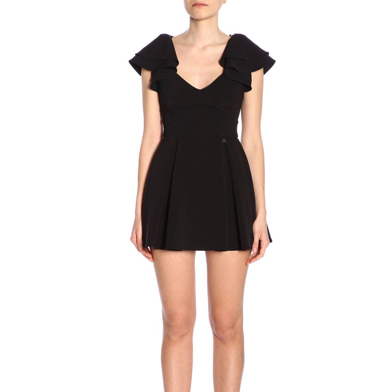 连衣裙 女士 Elisabetta Franchi 黑色 1