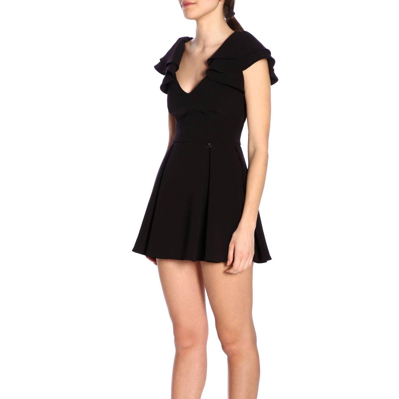 连衣裙 女士 Elisabetta Franchi 黑色 2