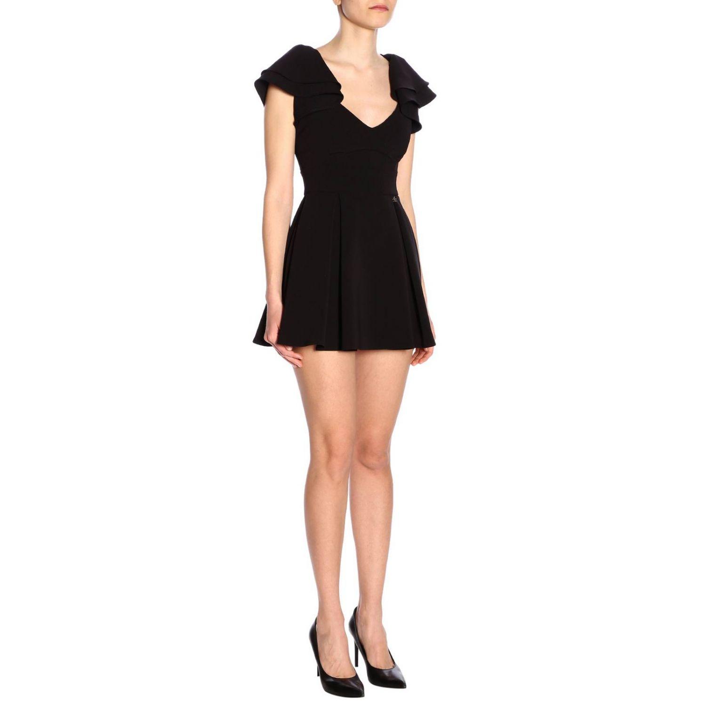 连衣裙 女士 Elisabetta Franchi 黑色 4