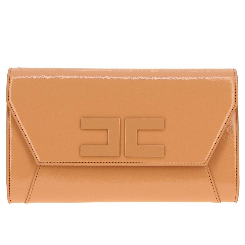 Shoulder bag women Elisabetta Franchi pink 1