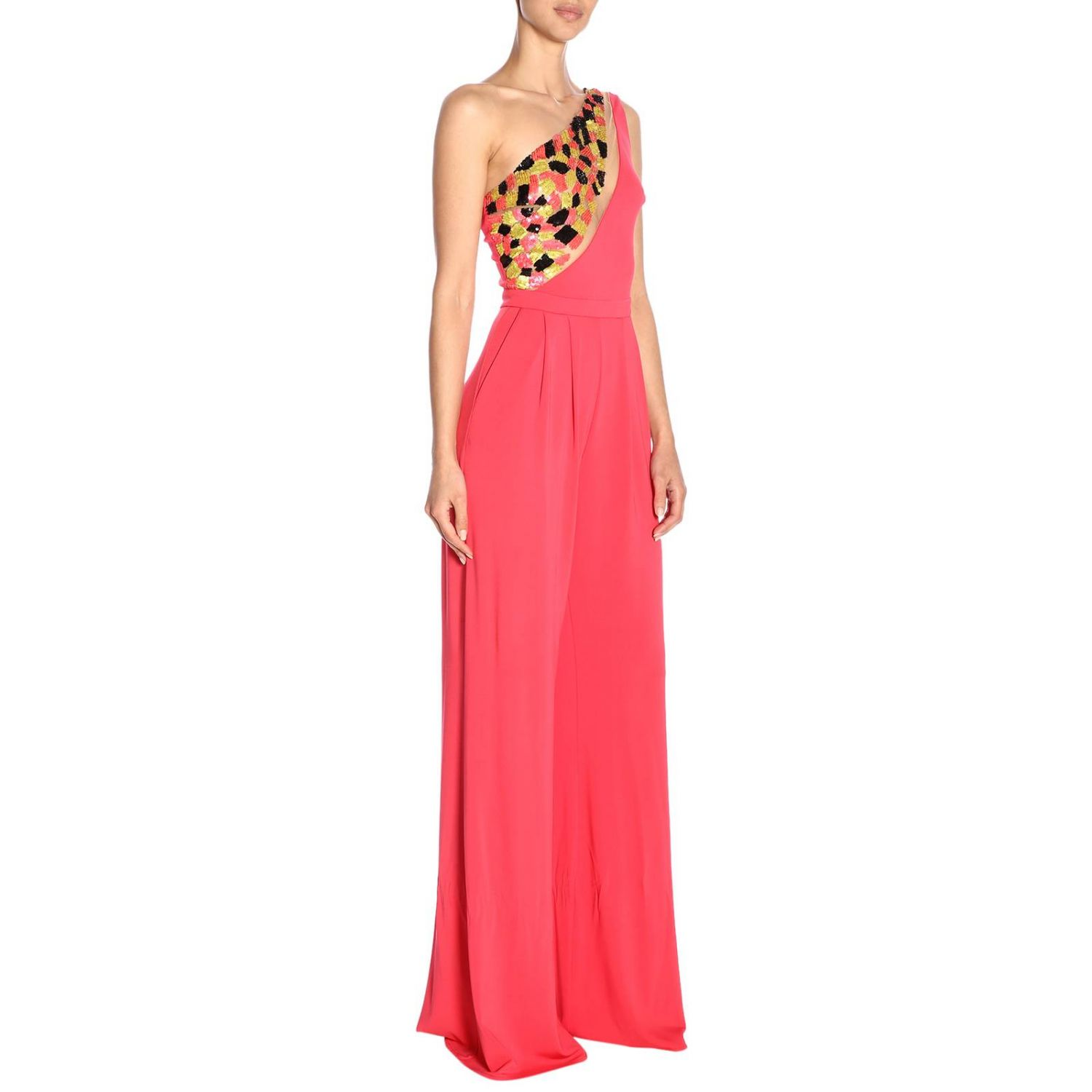 Dress women Elisabetta Franchi fuchsia 2
