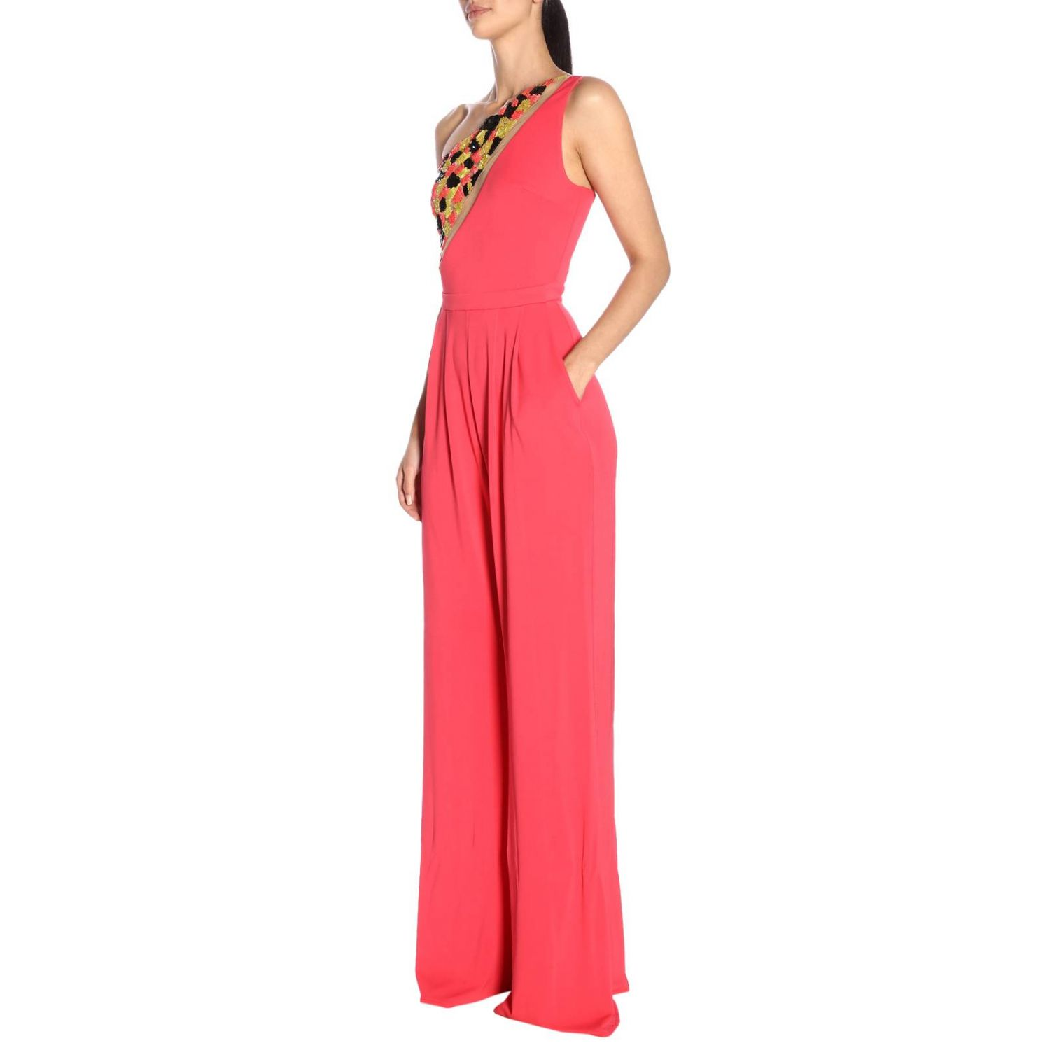 Dress women Elisabetta Franchi fuchsia 4