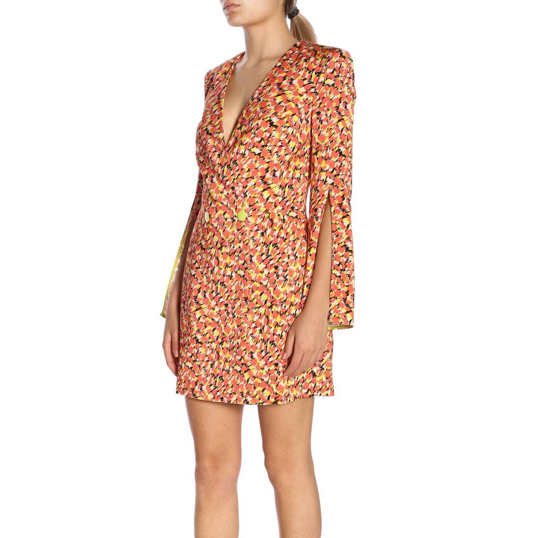 Robes Elisabetta Franchi: Robes femme Elisabetta Franchi rouge 2