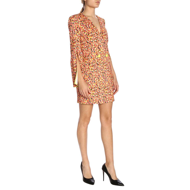 Robes Elisabetta Franchi: Robes femme Elisabetta Franchi rouge 4