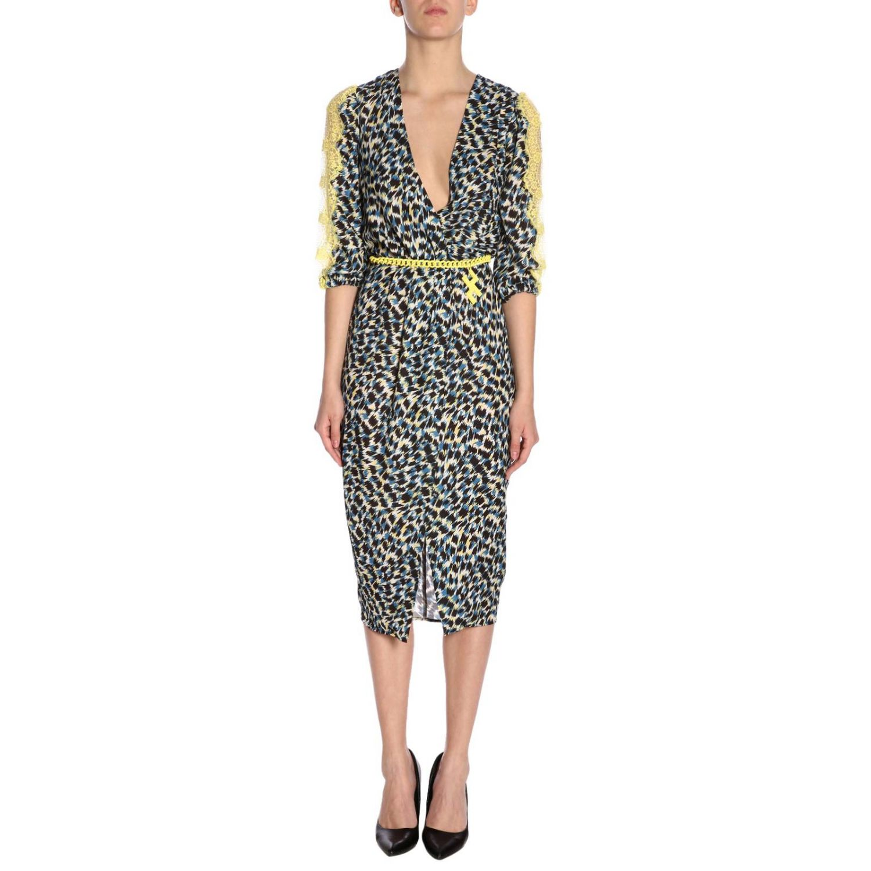 Dress Elisabetta Franchi: Dress women Elisabetta Franchi black 1