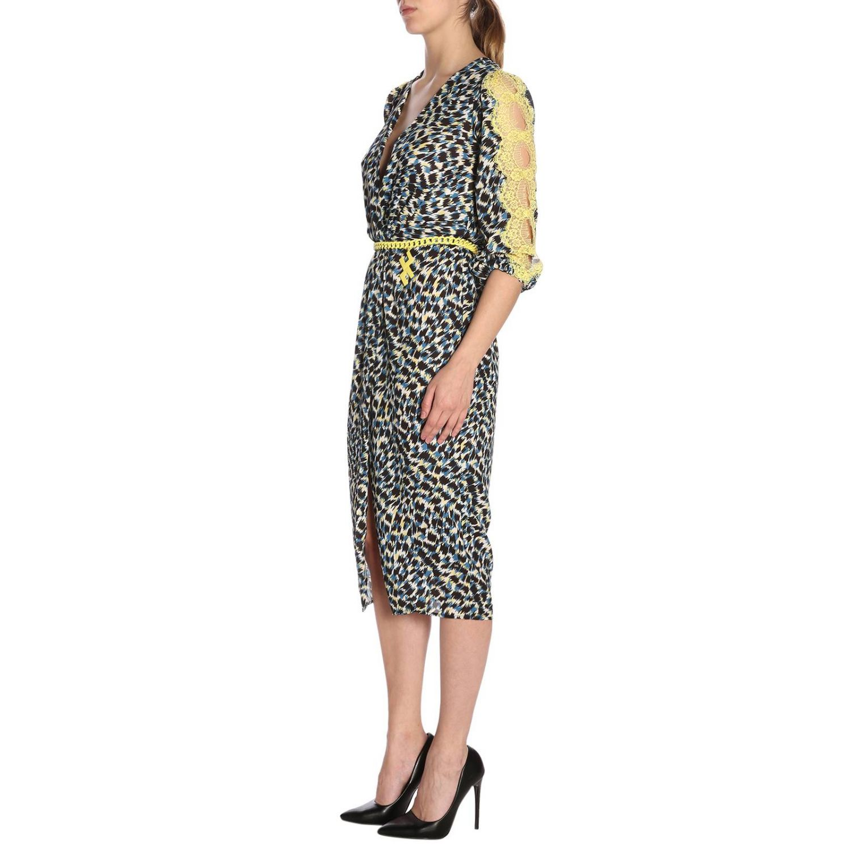 Dress Elisabetta Franchi: Dress women Elisabetta Franchi black 2