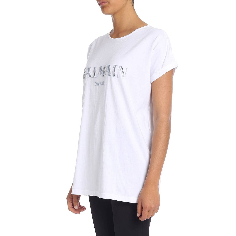 T-Shirt Balmain: T-shirt women Balmain white 2
