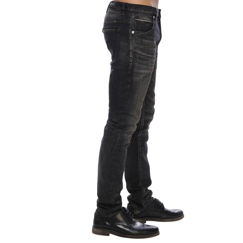 Джинсы Balmain: Джинсы Мужское Balmain черный 2