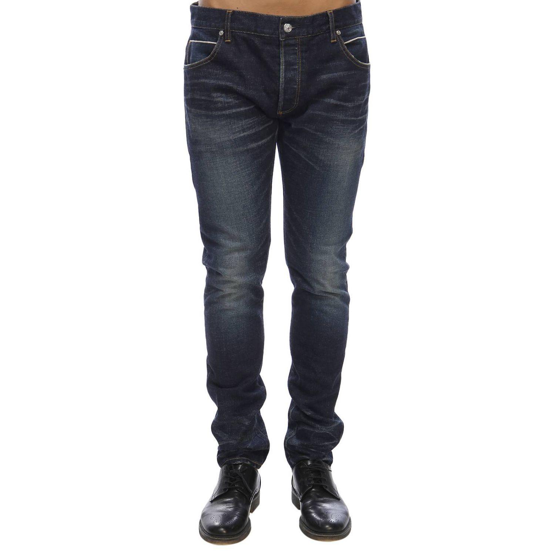Jeans Balmain: Jeans herren Balmain blau 1
