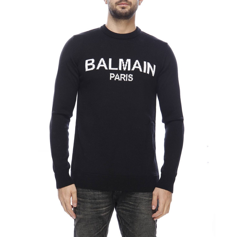 Свитер Мужское Balmain черный 1