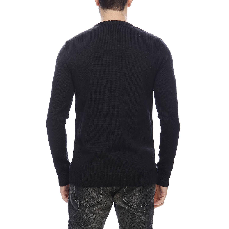 Sweater men Balmain black 3