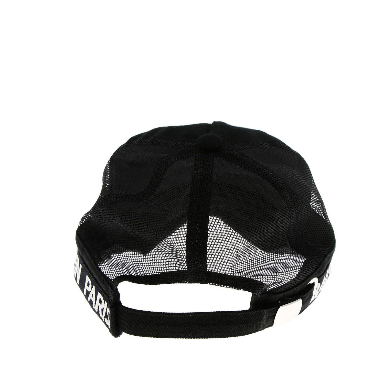 Hat men Balmain black 2