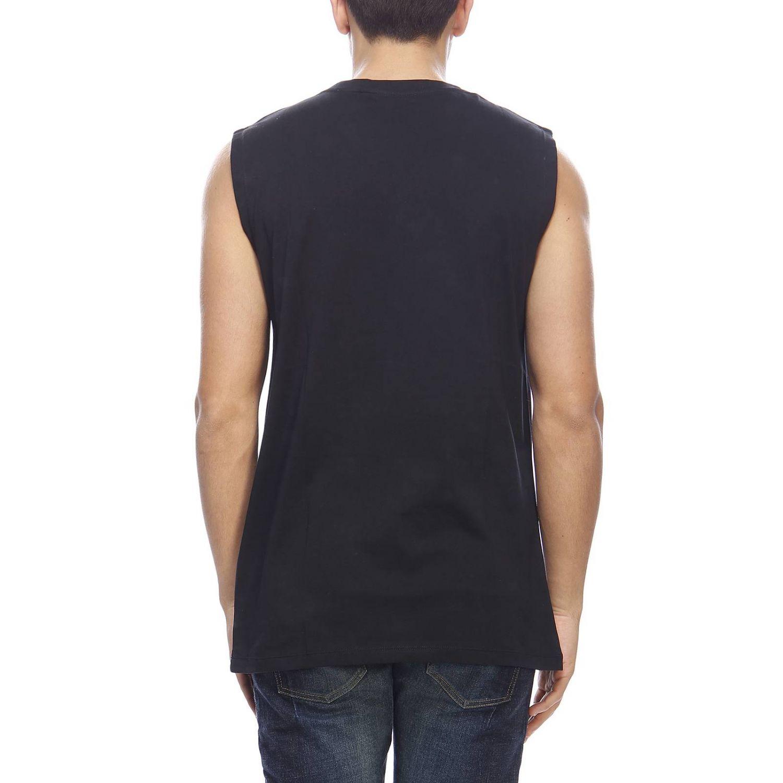 T-shirt men Balmain black 3