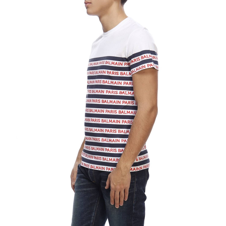 T恤 男士 Balmain 白色 2