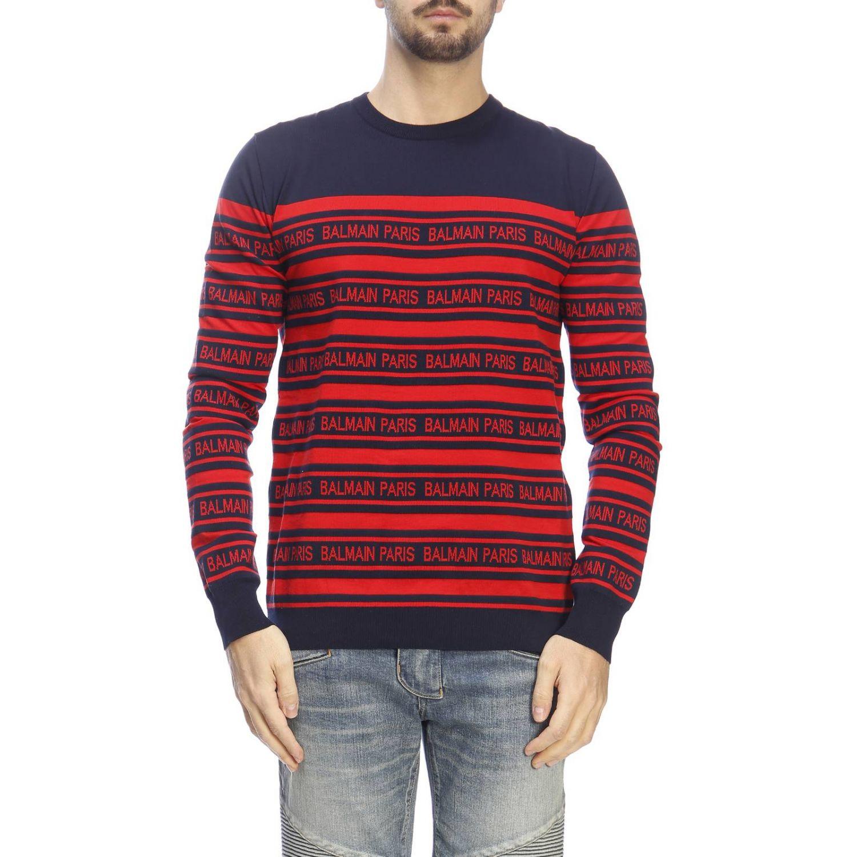 Pullover herren Balmain blau 1