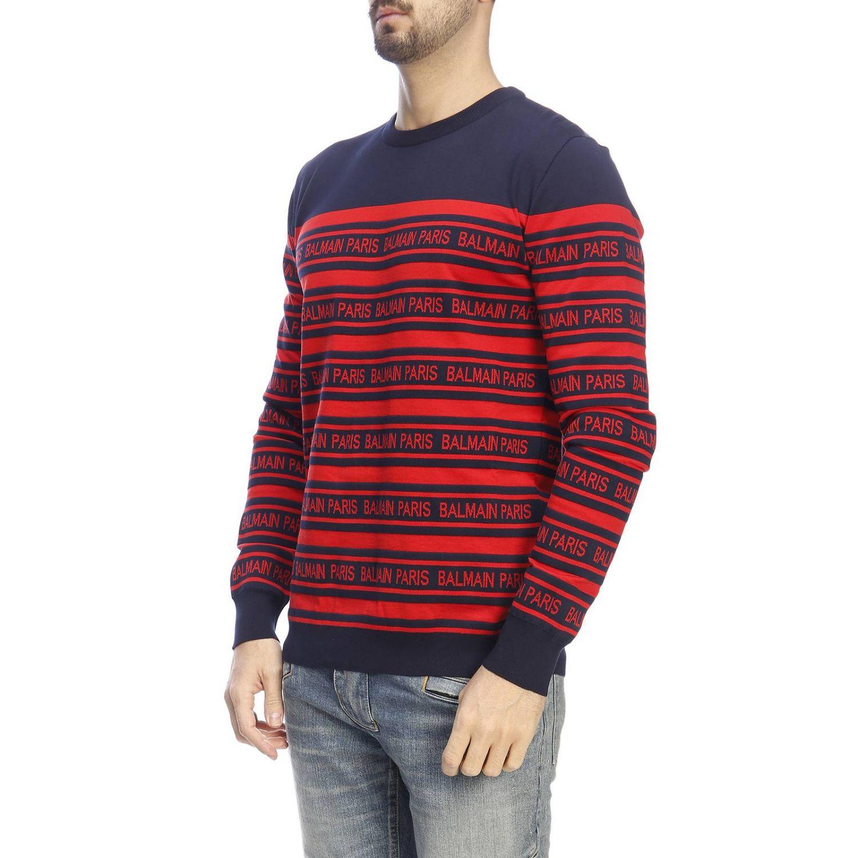 Pullover herren Balmain blau 2
