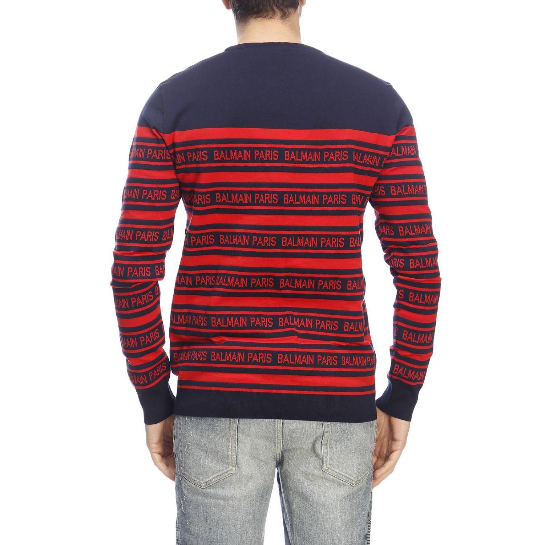 Pullover herren Balmain blau 3