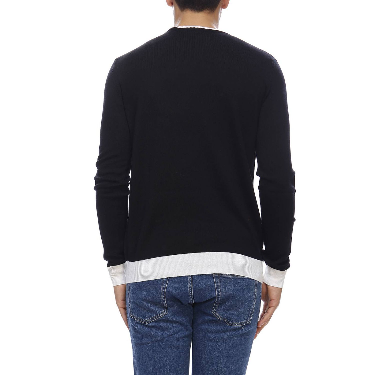 Sweater Balmain: Sweater men Balmain black 3