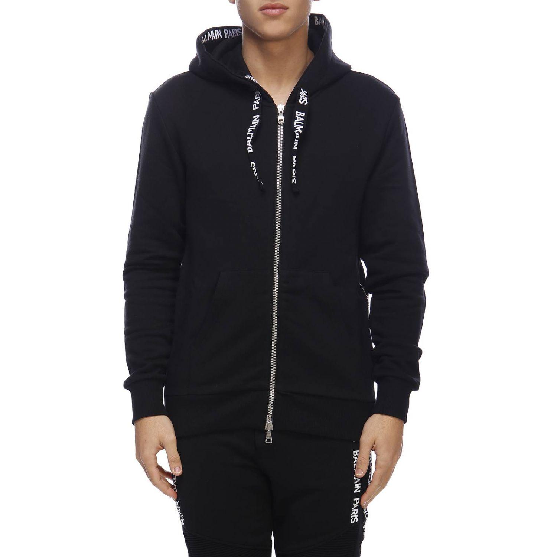 Sweatshirt Balmain: Sweater men Balmain black 1