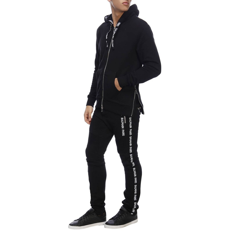 Sweatshirt Balmain: Sweater men Balmain black 5