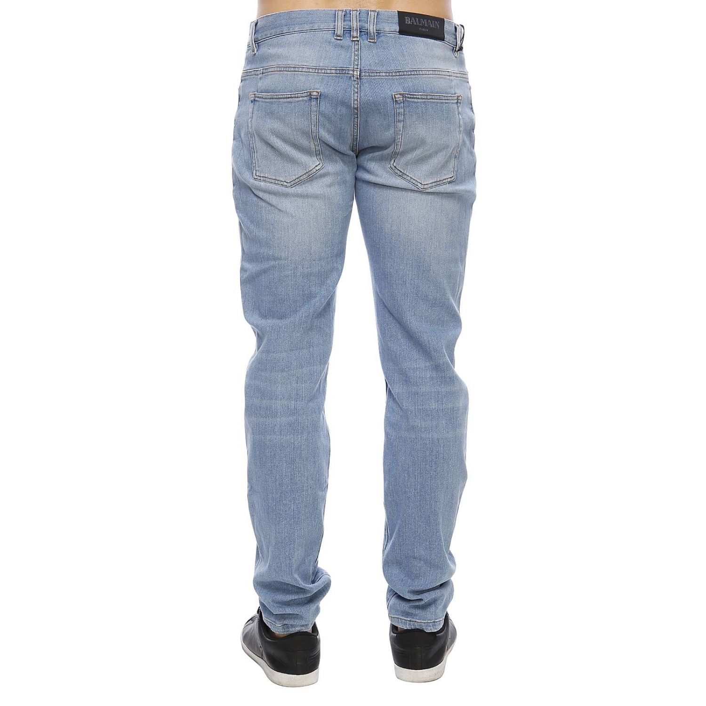 Jeans men Balmain stone washed 3