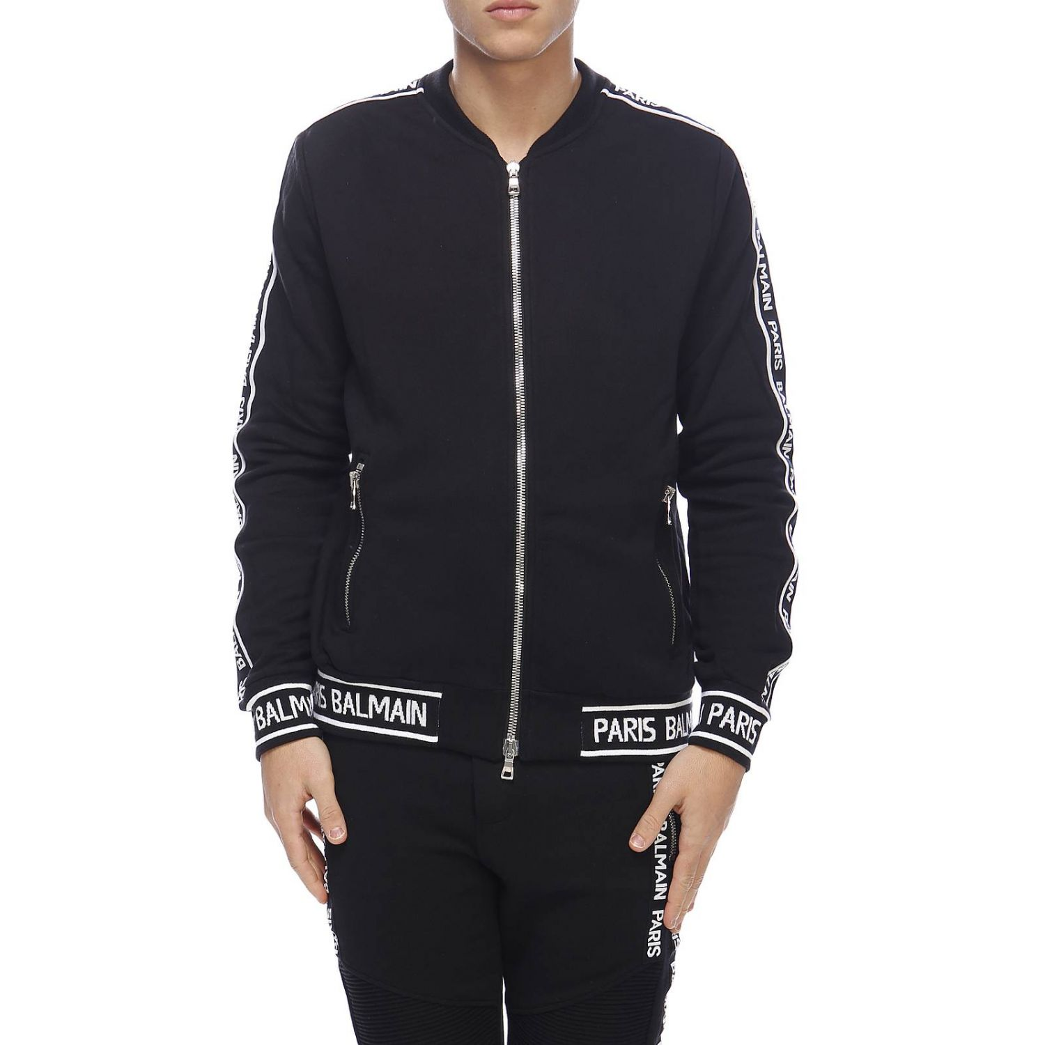Jacket Balmain: Jacket men Balmain black 1