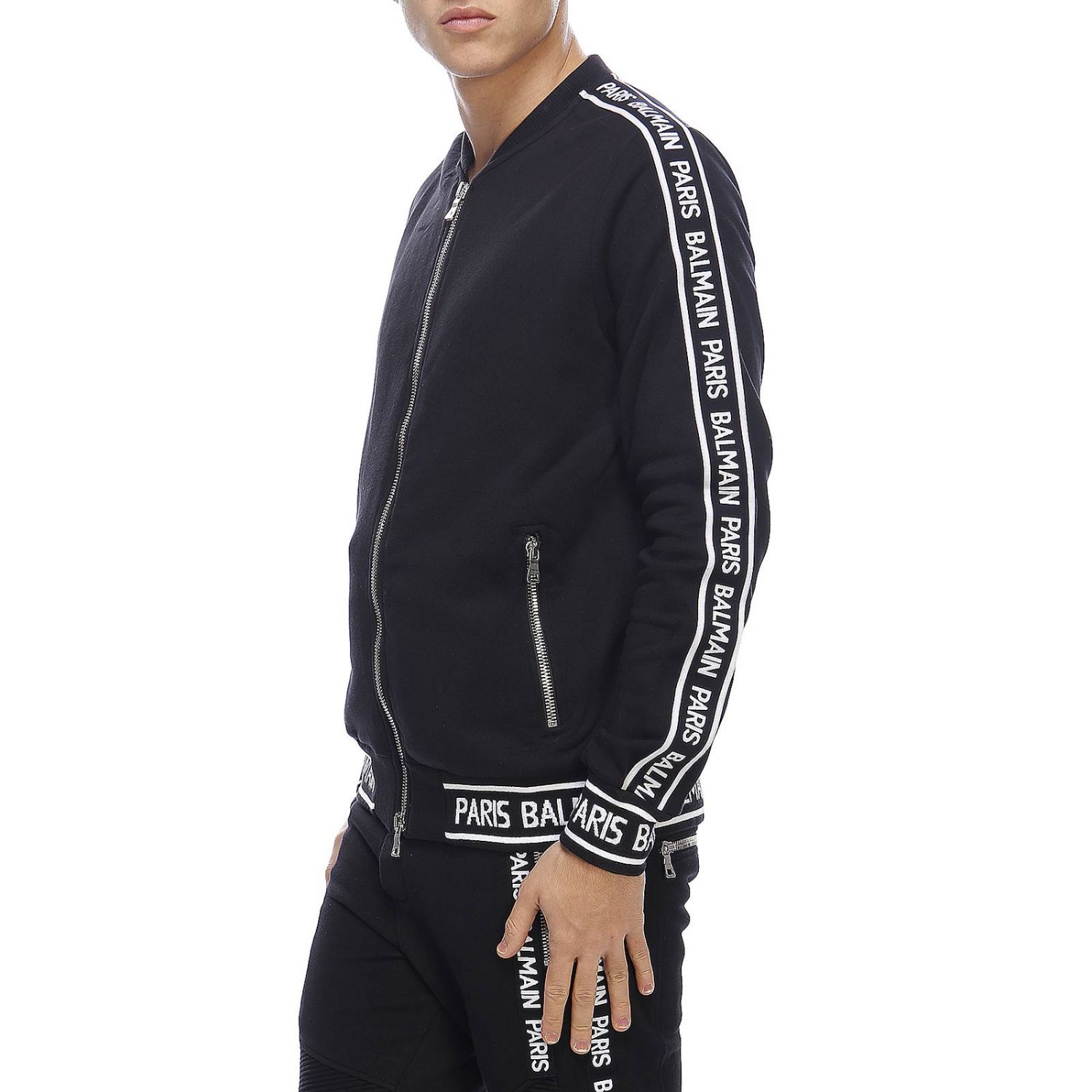 Jacket Balmain: Jacket men Balmain black 2