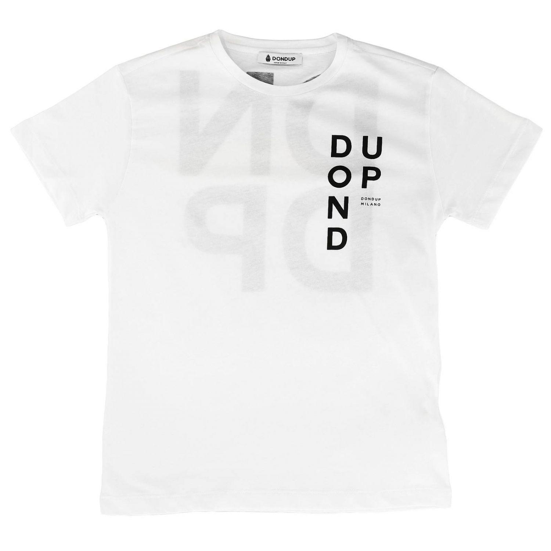 T-shirt enfant Dondup blanc 1
