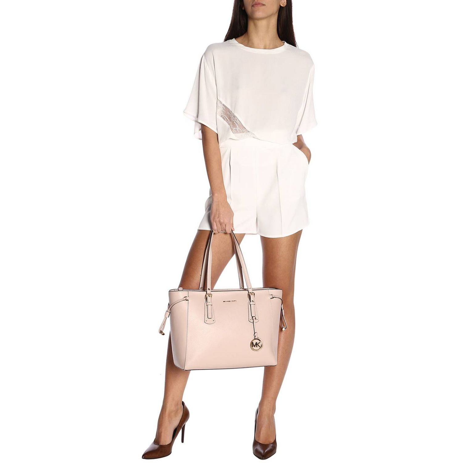 Shoulder bag women Michael Michael Kors blush pink 2
