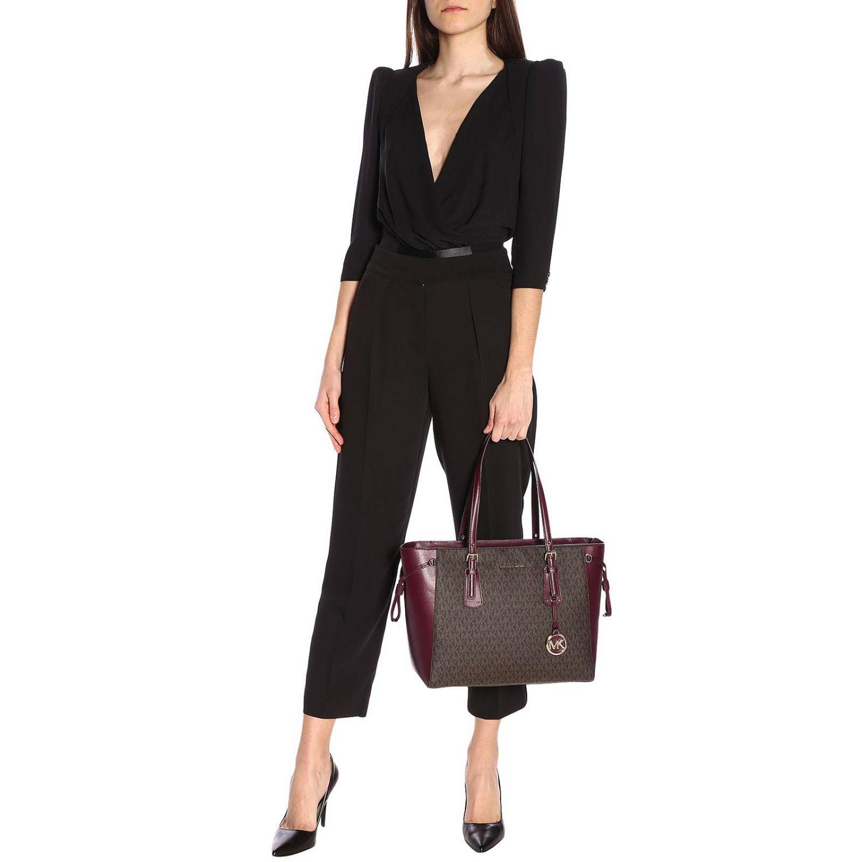 Shoulder bag women Michael Michael Kors burgundy 2