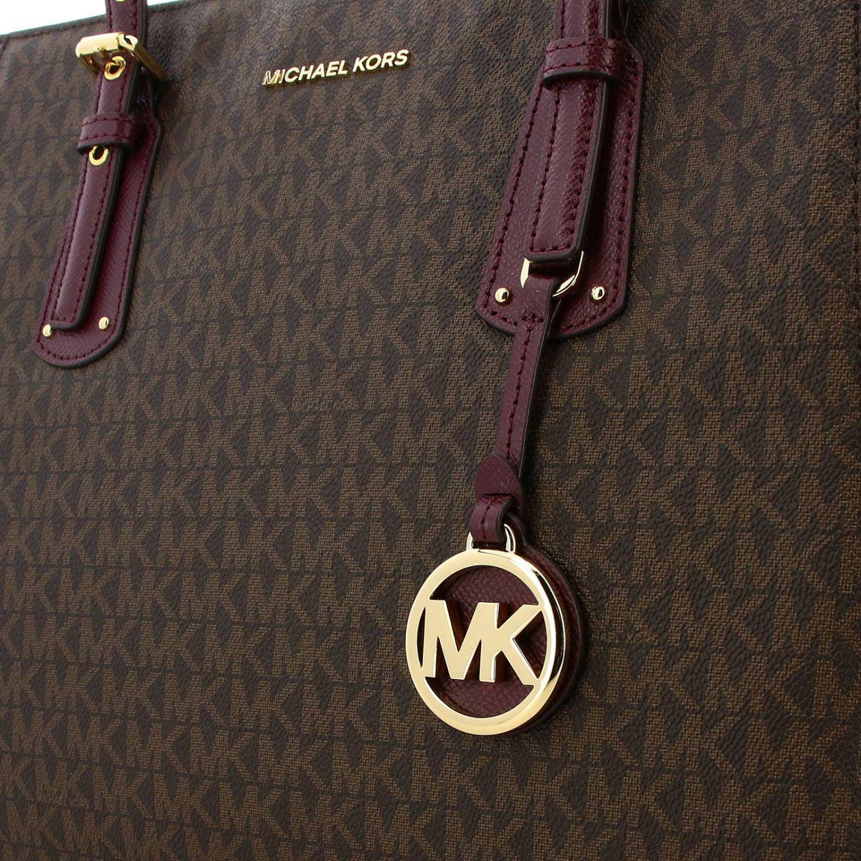 Shoulder bag women Michael Michael Kors burgundy 4
