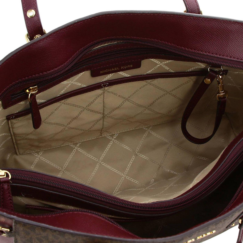 Shoulder bag women Michael Michael Kors burgundy 5
