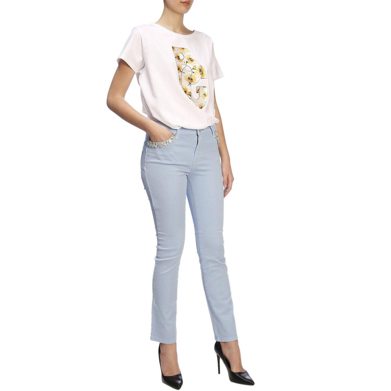 T-shirt women Blugirl white 4
