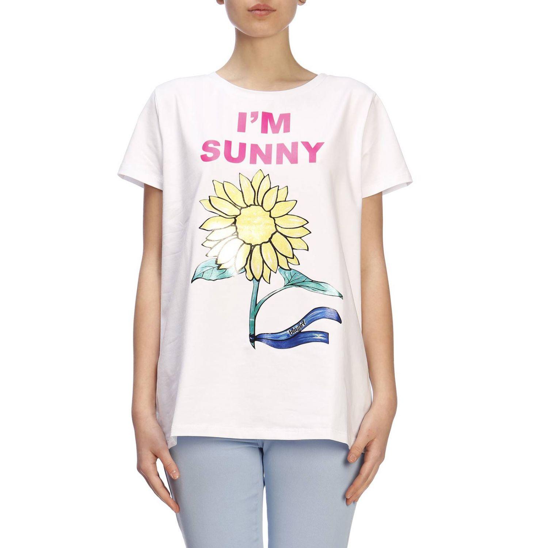 T-shirt damen Blugirl weiß 1