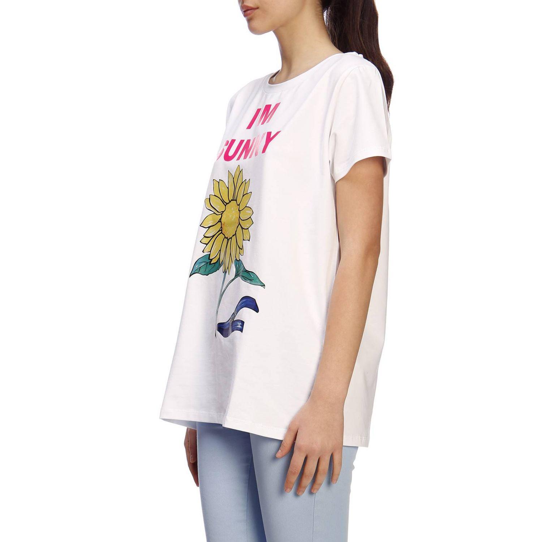 T-shirt damen Blugirl weiß 2