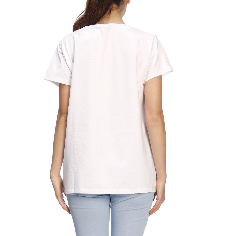 T-shirt damen Blugirl weiß 3