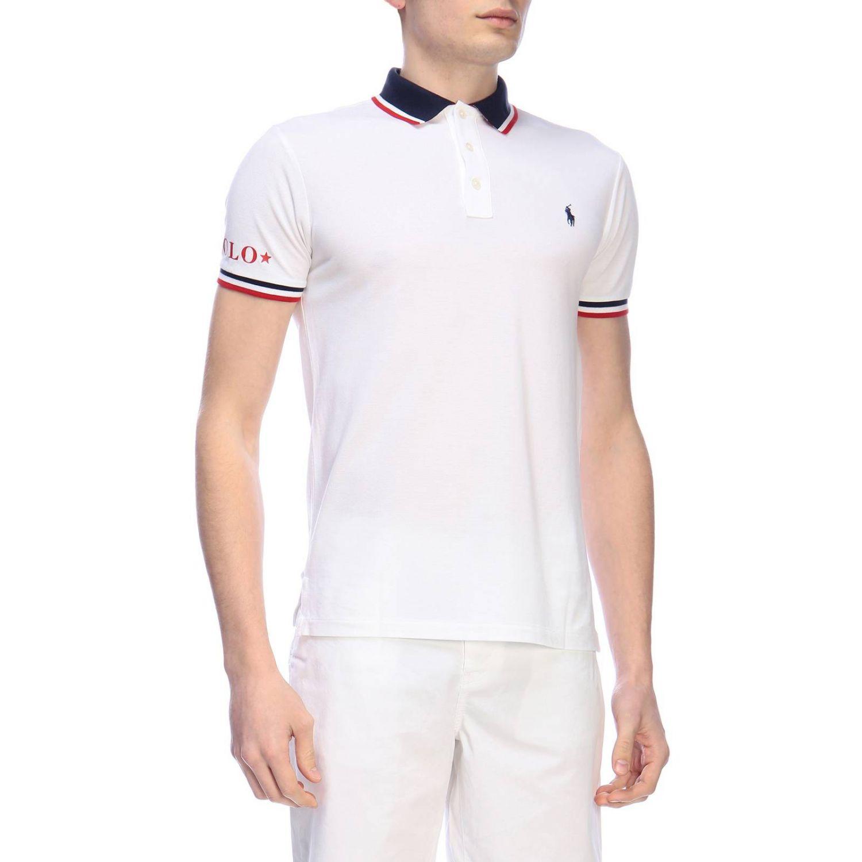 T-shirt men Polo Ralph Lauren white 2