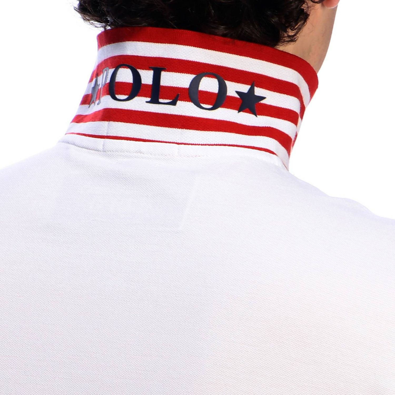 T-shirt men Polo Ralph Lauren white 4