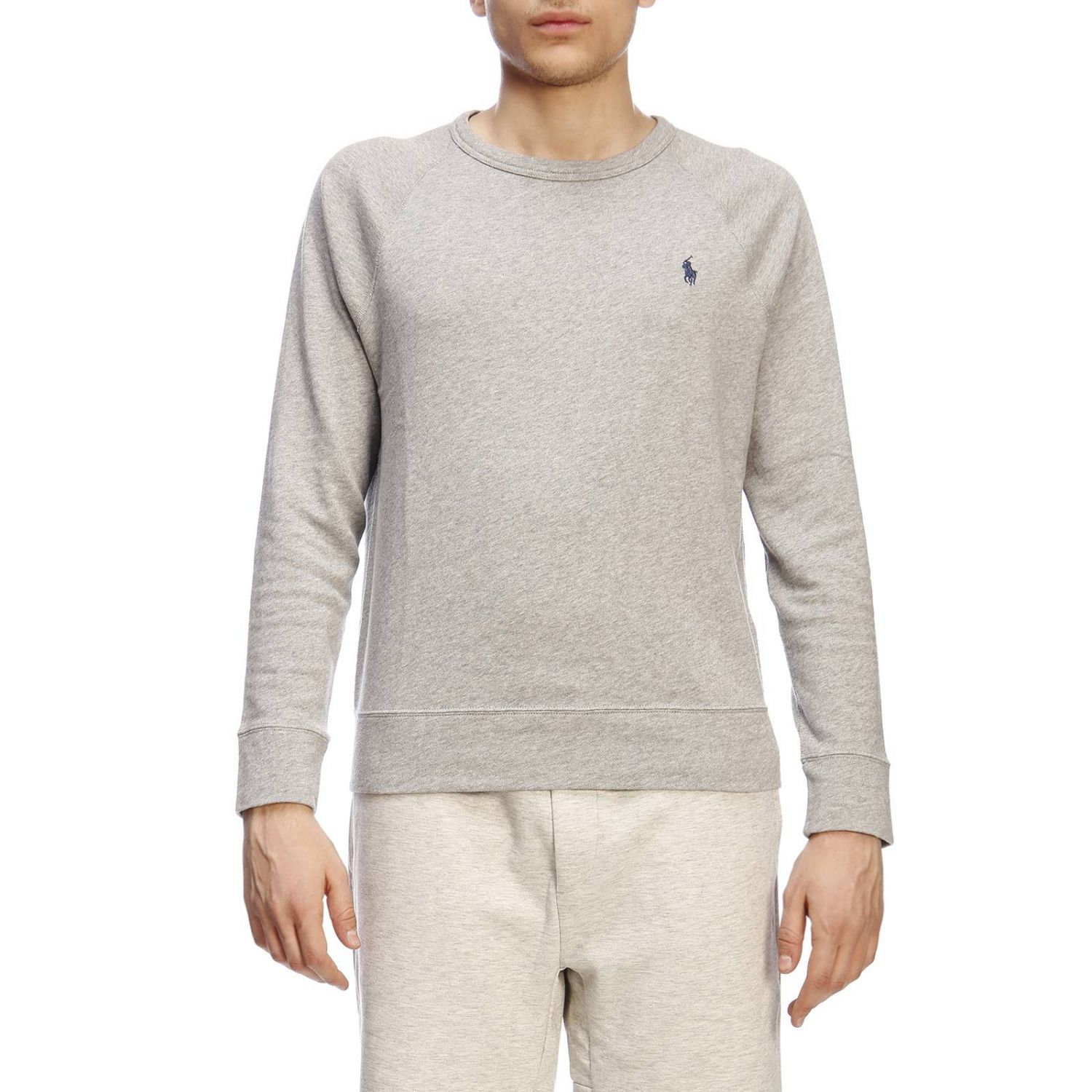 Pull homme Polo Ralph Lauren gris 1