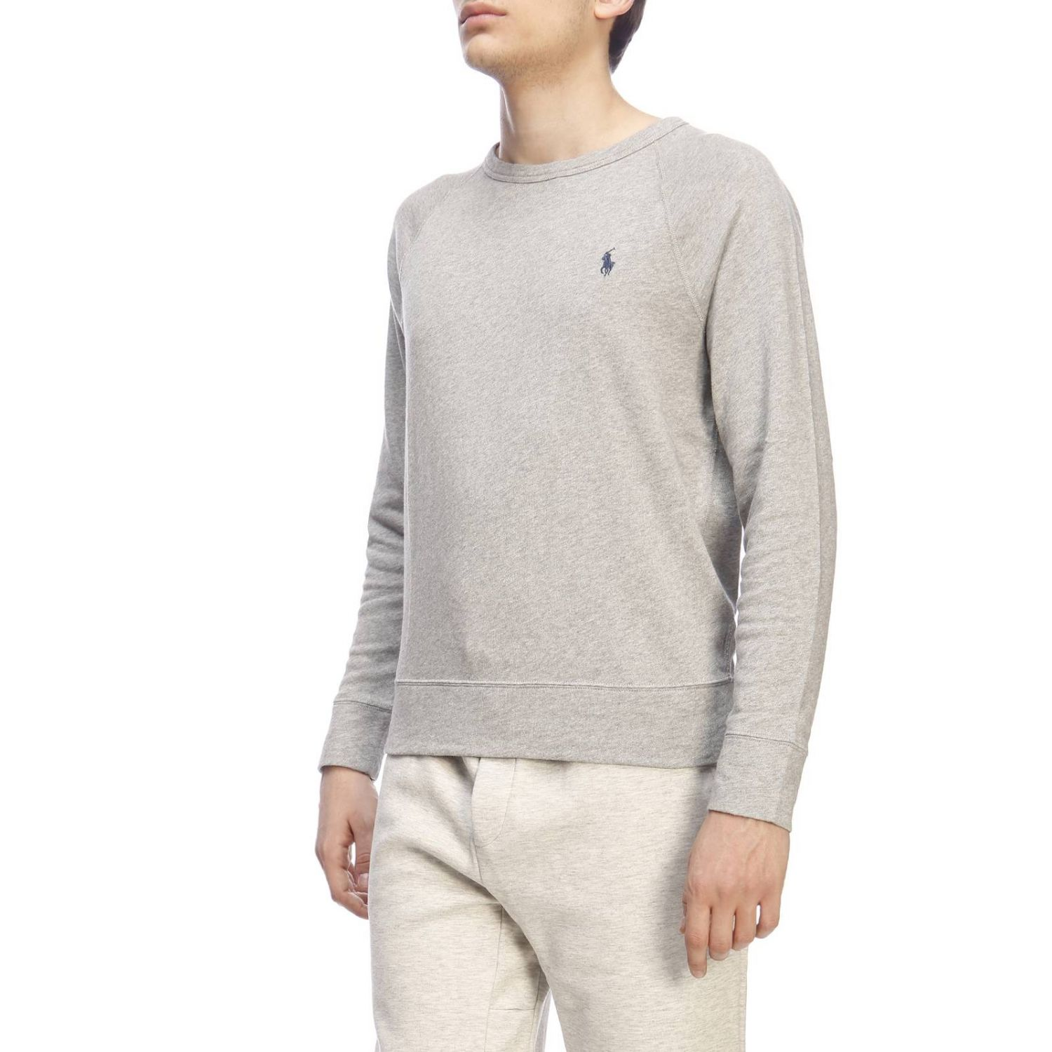 Pull homme Polo Ralph Lauren gris 2