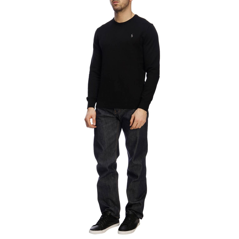 Jersey hombre Polo Ralph Lauren negro 4